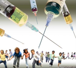 kids-flee-deadly-vaccine-by-david-dees